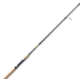 St. Croix TRS66MF4 Triumph Travel 4-Piece Graphite Spinning Fishing Rod with Cork Handle